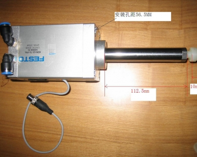 Reposition the cylinder assembly